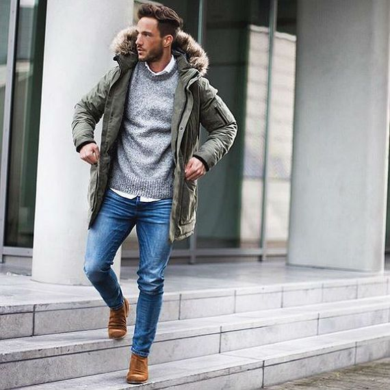 Men S Winter Trends Winter Wear Styled By Sally