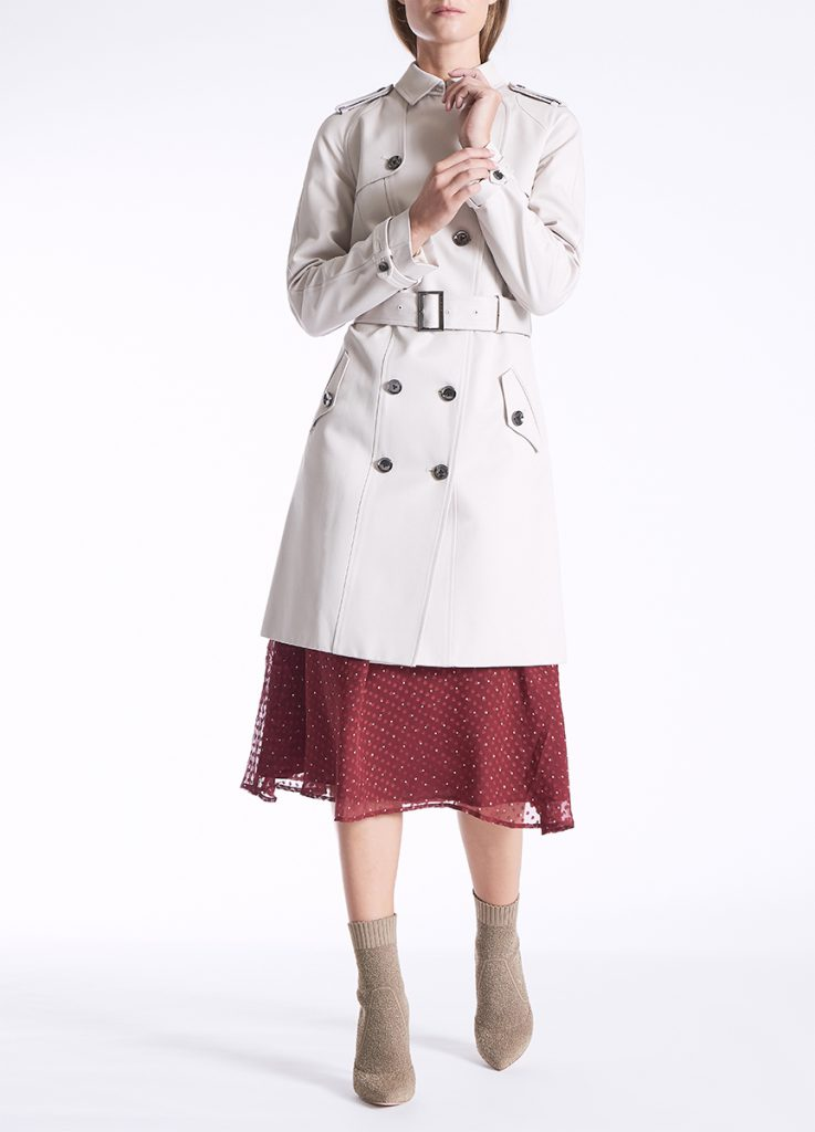 David Lawrence Willow Classic Trench
