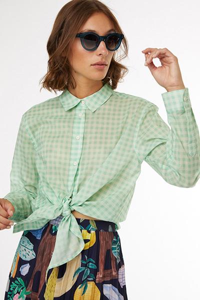 Chemise à carreaux Gorman